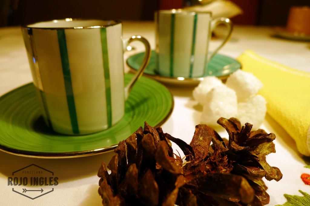 porcelana cafe tazas