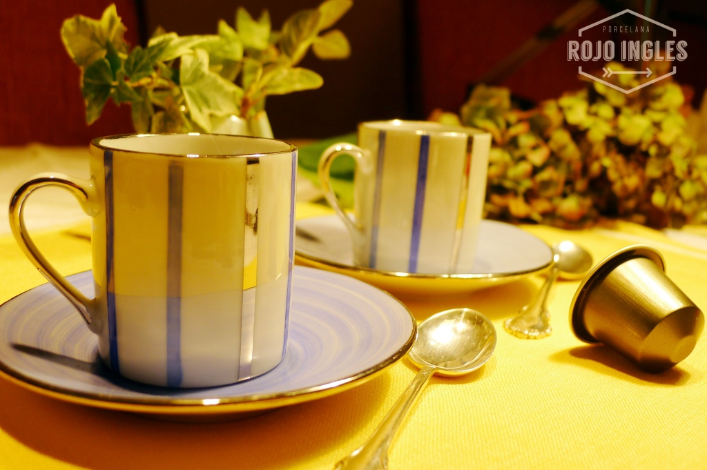 juego cafe porcelana