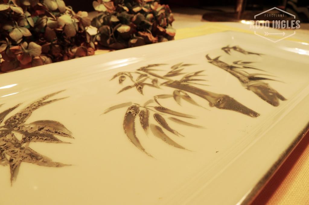 porcelana pintada a mano