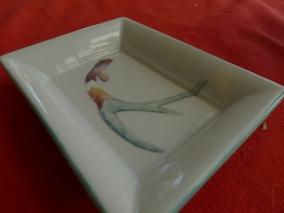 cenicero porcelana